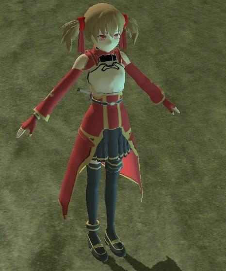 刀剑神域桐人双刀流模型